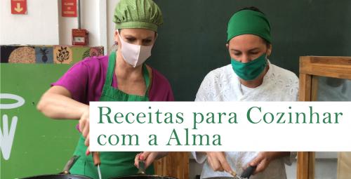 E-book traz receitas com ingredientes do Alimento Solidário