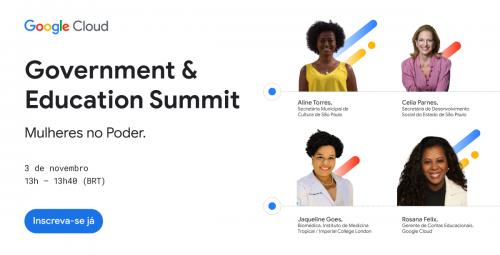 Evento do Google Cloud aborda o tema Mulheres no Poder